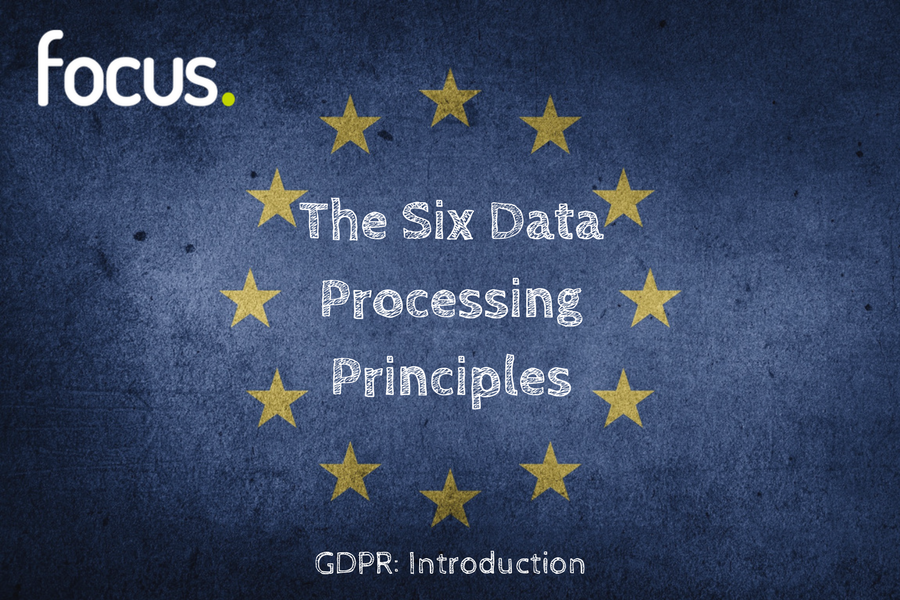 GDPR Data Processing Principles